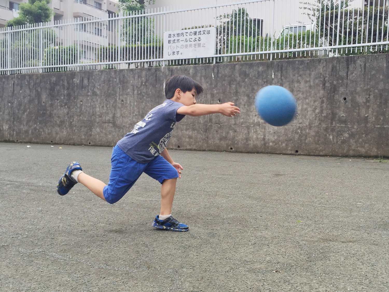 ♡:ドッヂボールが強い