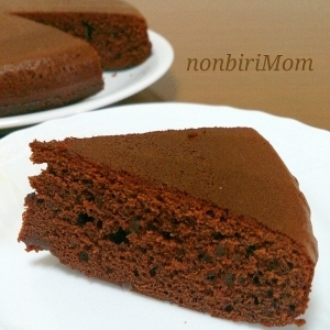 HM×炊飯器deღ簡単ღチョコレートケーキღ