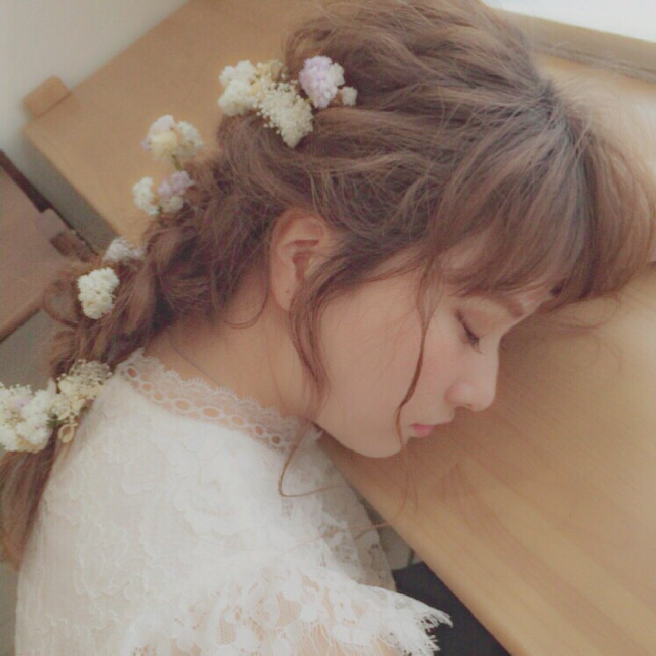 DAY5_プリンセス風ヘア