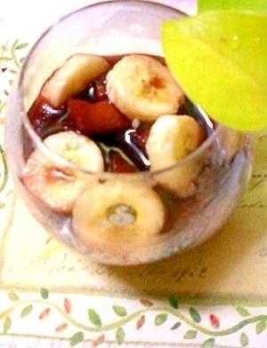 即席☆りんごとバナナとプルーンのサングリア♪