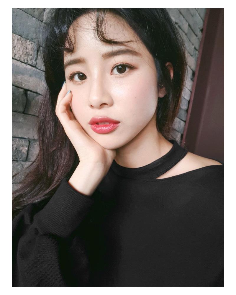 ▷眉毛を平行太眉にするだけで韓国の女の子っぽくなる♡