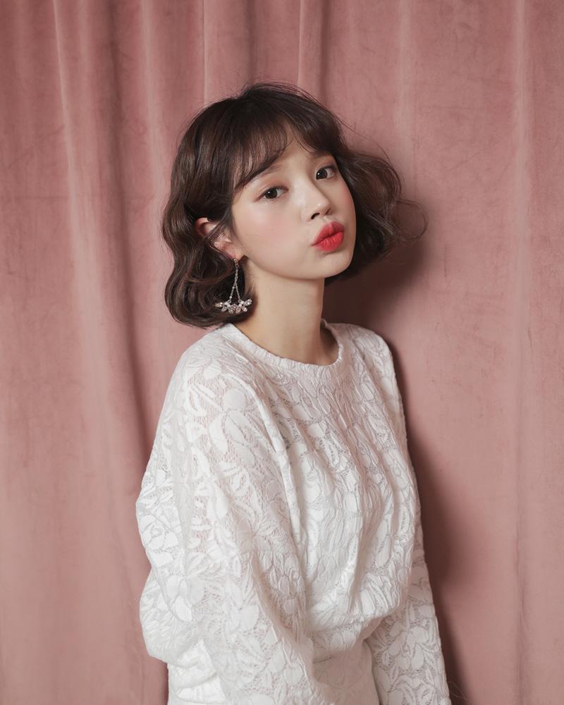 ▷リップは濃いめが韓国の女の子っぽい♡