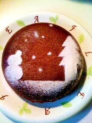 簡単!炊飯器でチョコケーキ~♪
