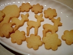 美味しくてとまらない☆型抜きクッキー