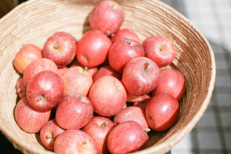 撃退法その2:締めにりんごを食べる