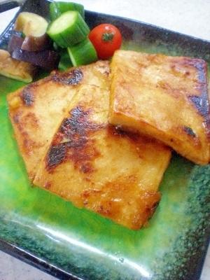 乾物万歳!高野豆腐の生姜焼き