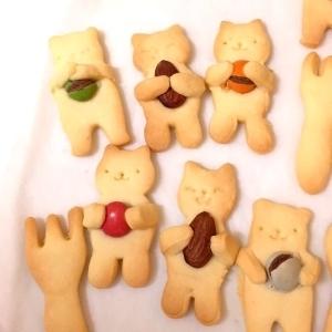 バレンタインに!簡単、かわいいクッキーー♪