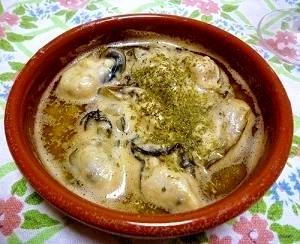 おうちでバル☆牡蠣のアヒージョ