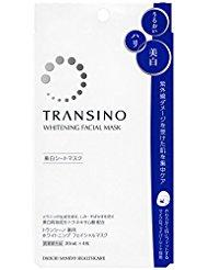 トランシーノ 薬用ホワイトニングフェイシャルマスク 4枚入り