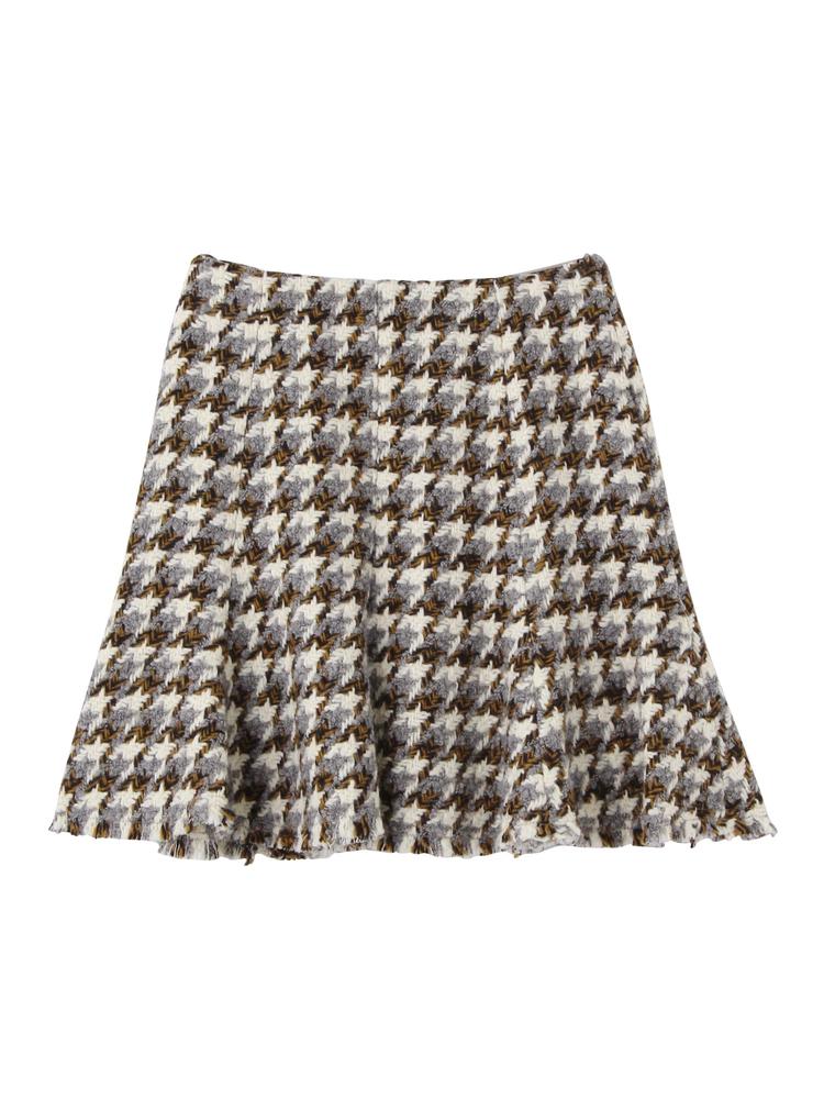 MIXカラーツイードスカート