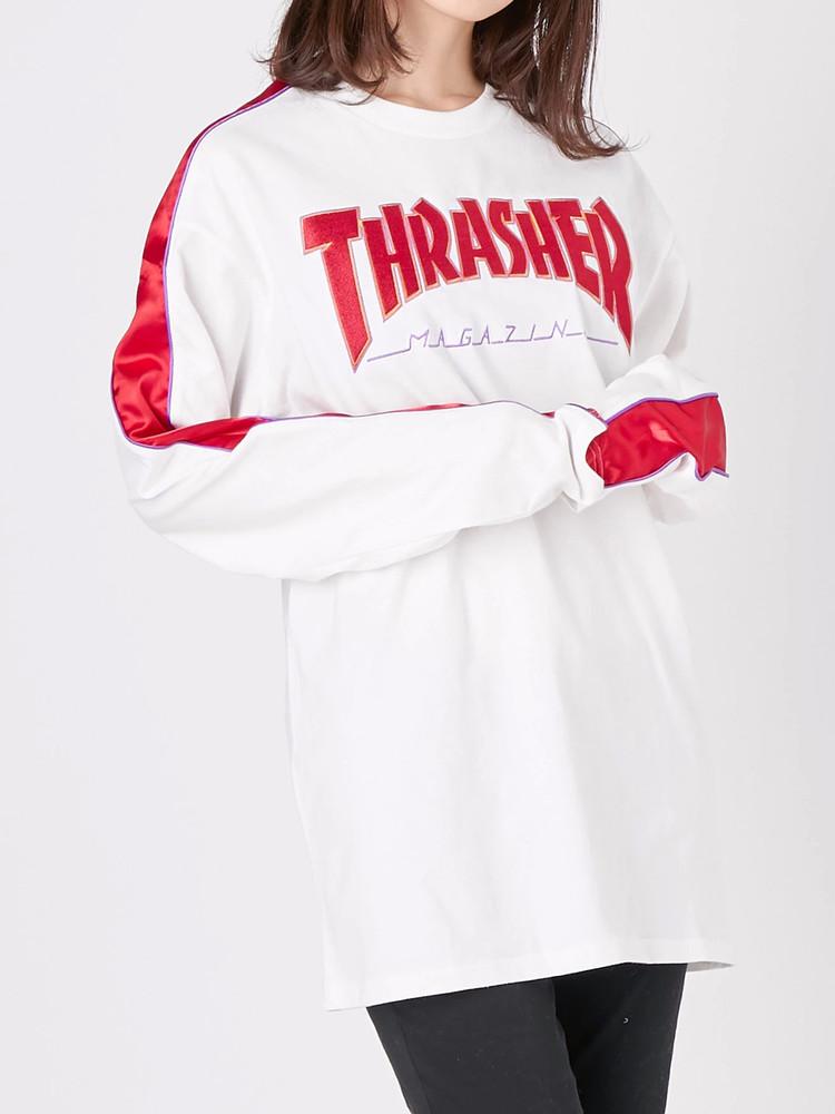THRASHERライン L/S TEE