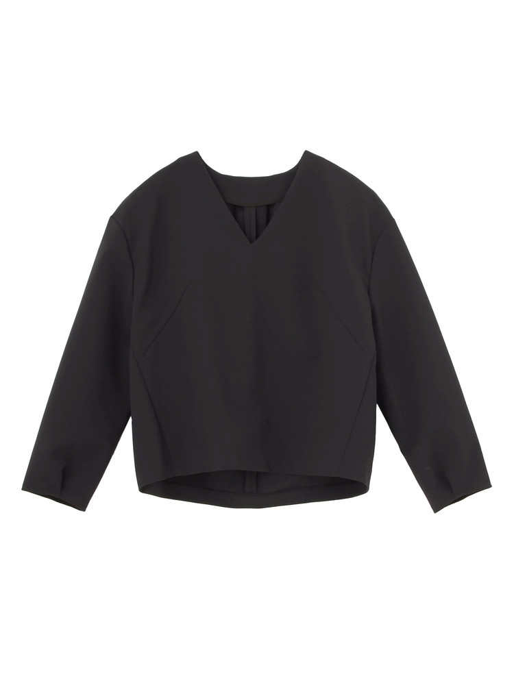 BACK TUCK FORN BLOUSE