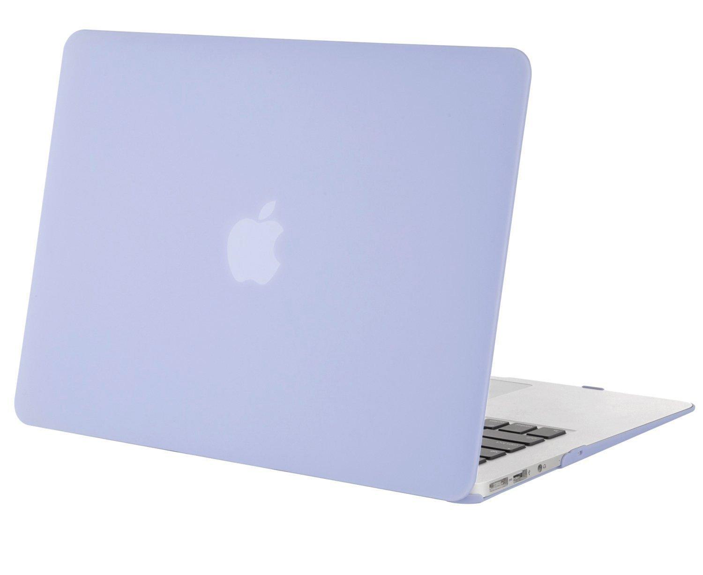 Mosiso -MacBook Air 13専用 13.3インチ マット加工 半透明 スナップ式 ハードシェルケース