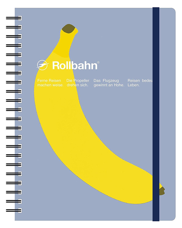 ロルバーン ノート ポケット付メモ A5サイズ フルーツ (Bバナナ)