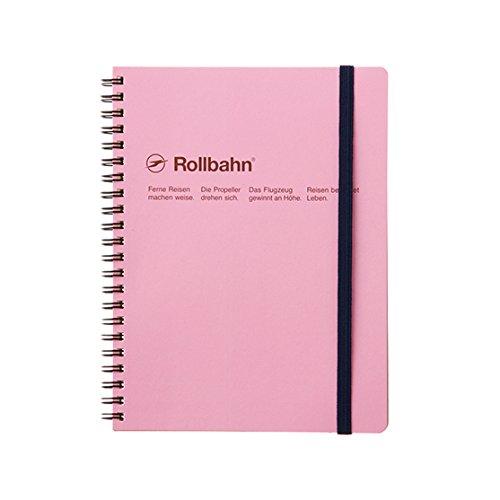 ロルバーンポケット付メモA5 ピンク