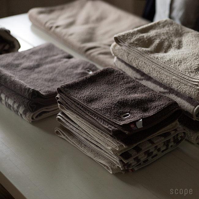 house towel ベージュ フェイスタオル