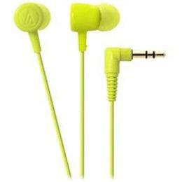 オーディオテクニカ インナーイヤーヘッドホン dip neon color