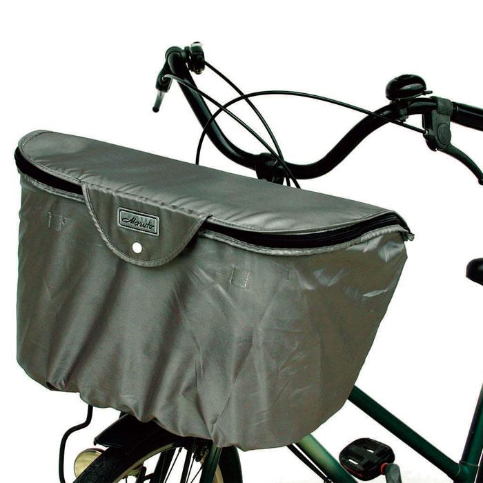 2段式ワイドカゴ用バスケットカバー 自転車用前カゴ