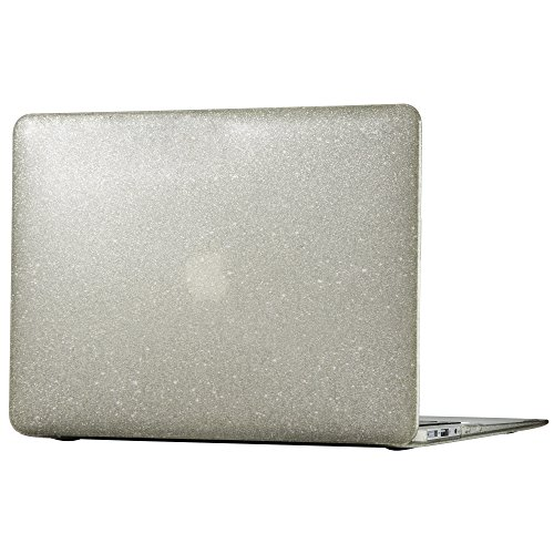 Speck Macbook Air 13 Smartshell - Clear With Gold Glitter