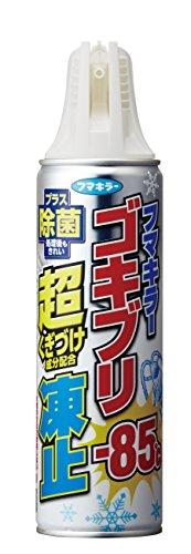 ゴキブリスプレー 超凍止ジェット 除菌プラス 230ml
