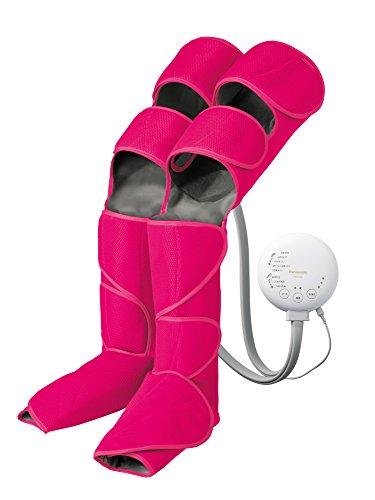パナソニック エアーマッサージャー レッグリフレ ひざ/太もも巻き対応 温感機能搭載 ルージュピンク