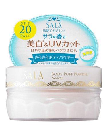 カネボウ サラ ボディパフパウダー UV サラの香り