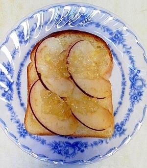 りんごレモントースト