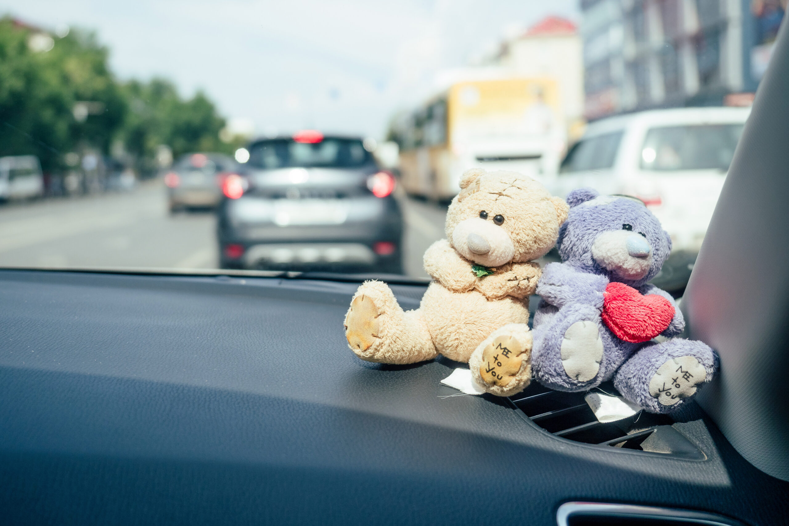 ( 例 )教習所にて恋のドライブ…♡