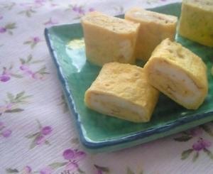 しっとりやさしい味~塩麹で卵焼き