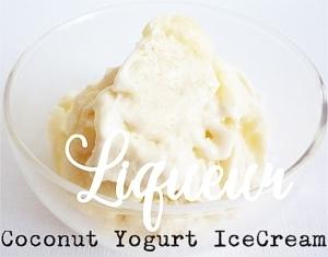 ココナッツヨーグルトアイスクリーム