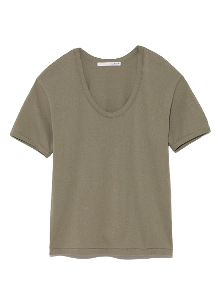 U neck tee shirt