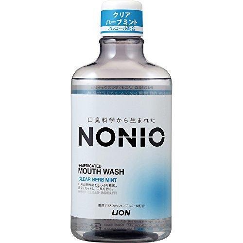 ライオン NONIO マウスウォッシュ クリアハーブミント【医薬部外品】