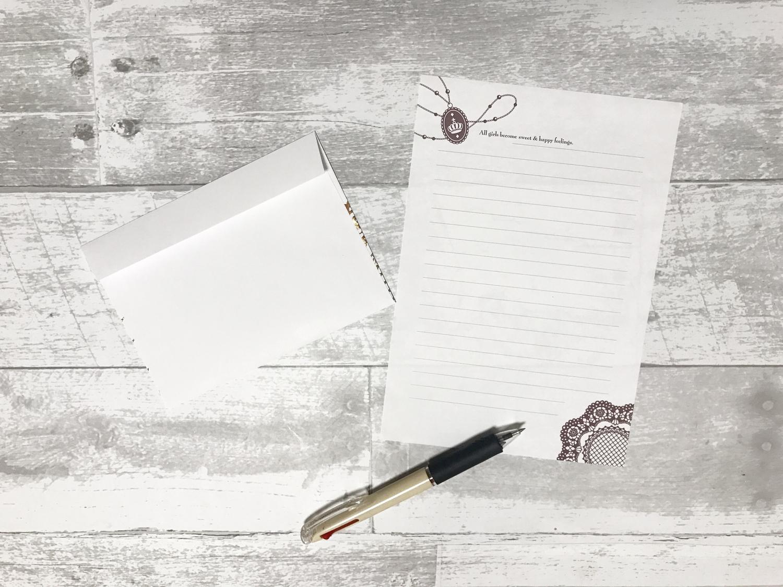 心から愛を込めた手紙
