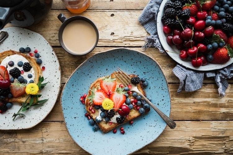 (2)朝ご飯はきちんと食べる(ただし刺激の弱いモノ)