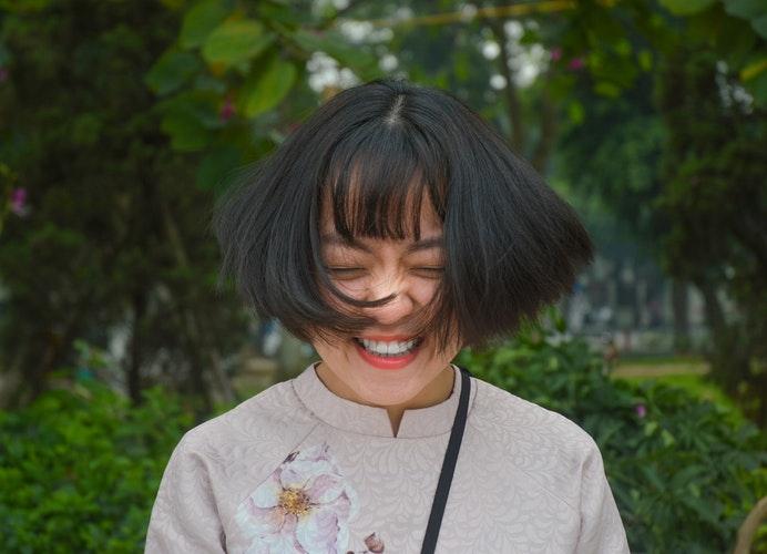 (3)笑顔になったとき、最高