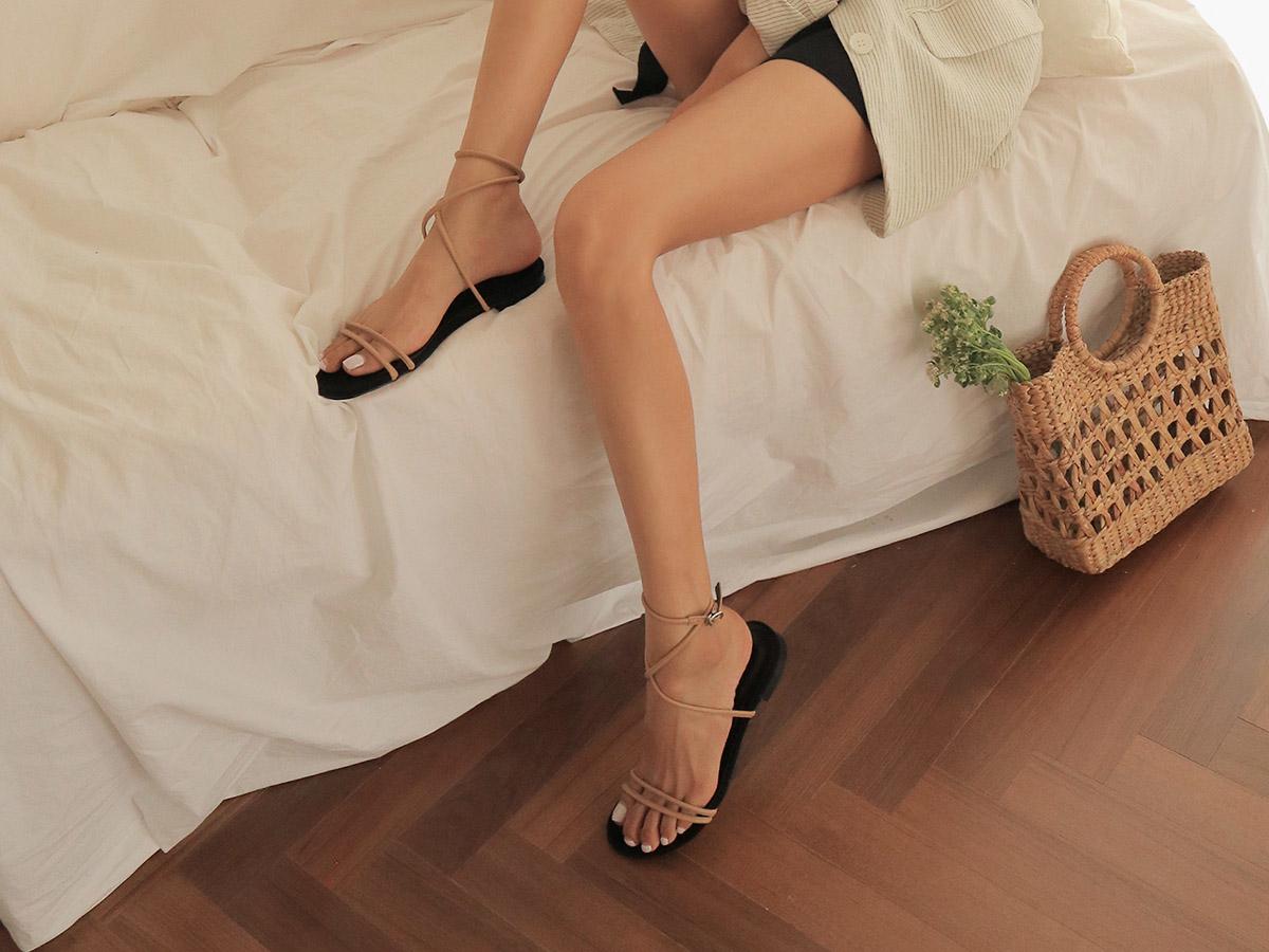 ⑤ ぺたんこ靴も怖くないふくらはぎ