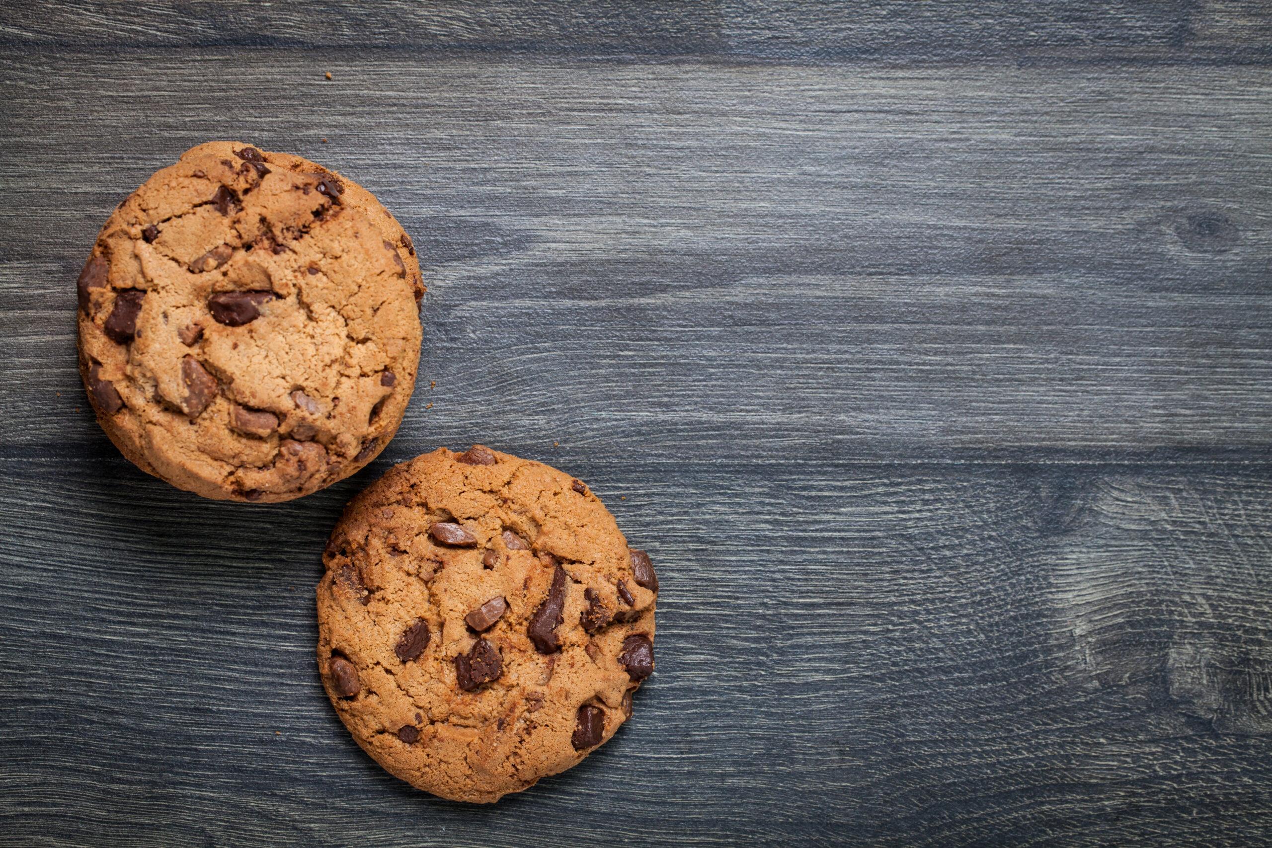 クッキーの100kcal分の量は?