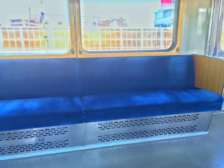 電車で席を譲った!