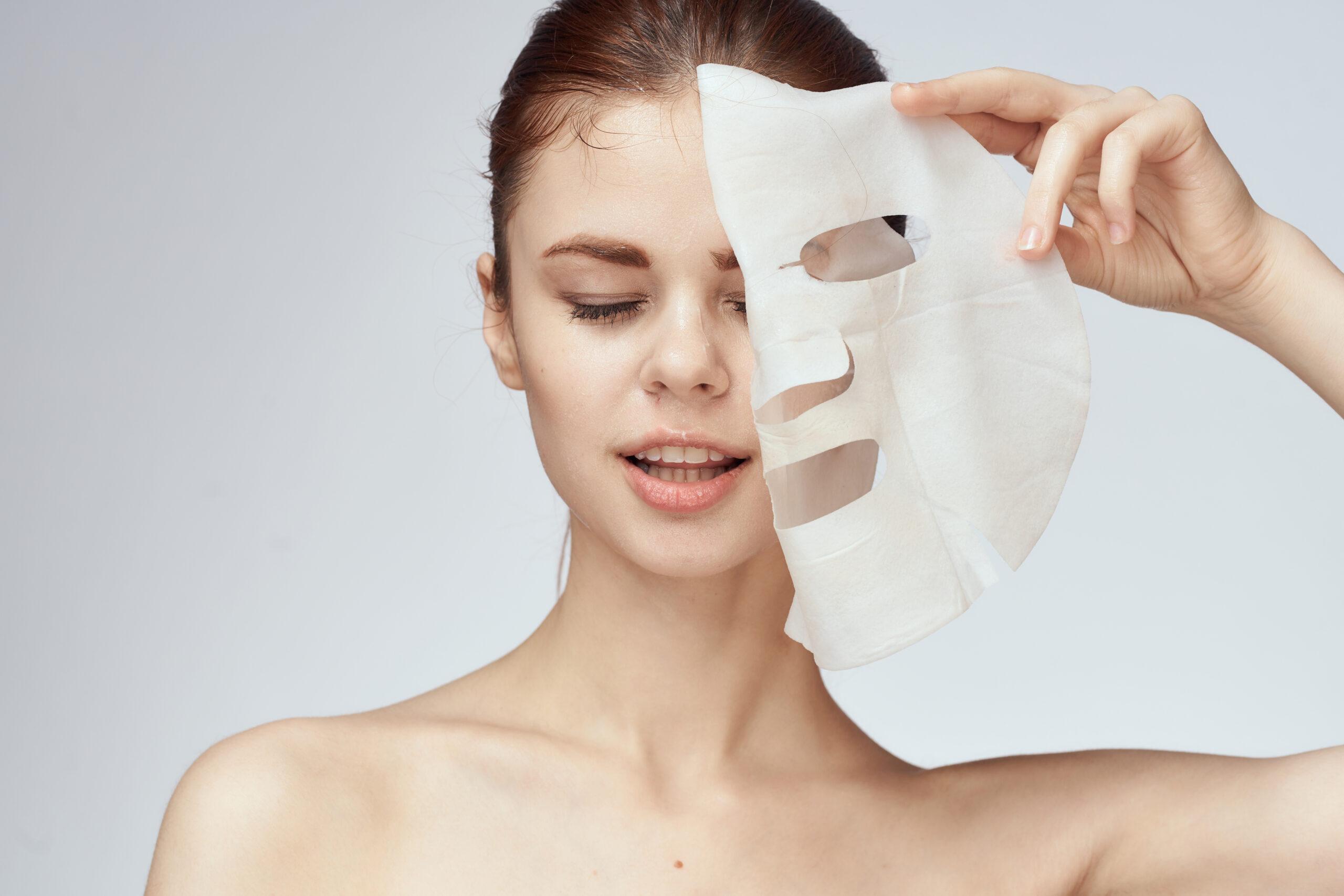 3:シートマスクでたっぷりの潤いを