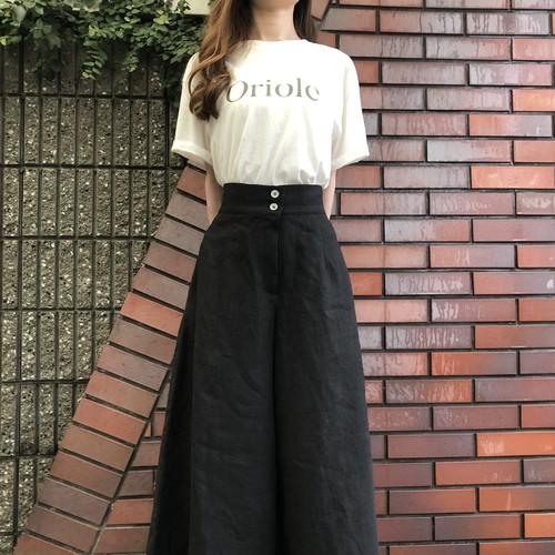 Big wide linen pants