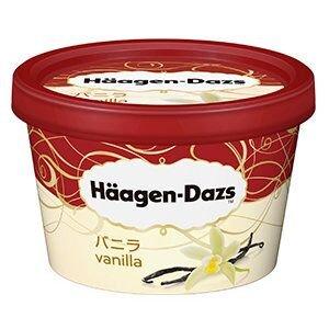 ハーゲンダッツアイスクリーム バニラ 6個
