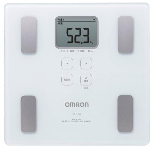 オムロン 体重・体組成計 カラダスキャン ホワイト