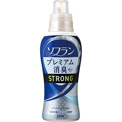 ソフラン プレミアム消臭プラス STRONG 柔軟剤 ワイルドシトラスの香り