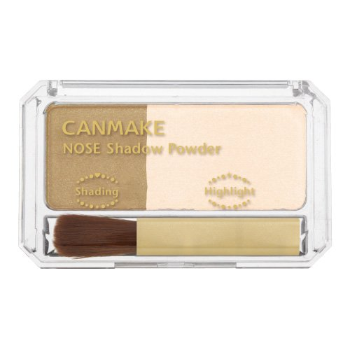 CANMAKE(キャンメイク) ノーズシャドウパウダー N ベージュホワイト×ミルキーブラウン