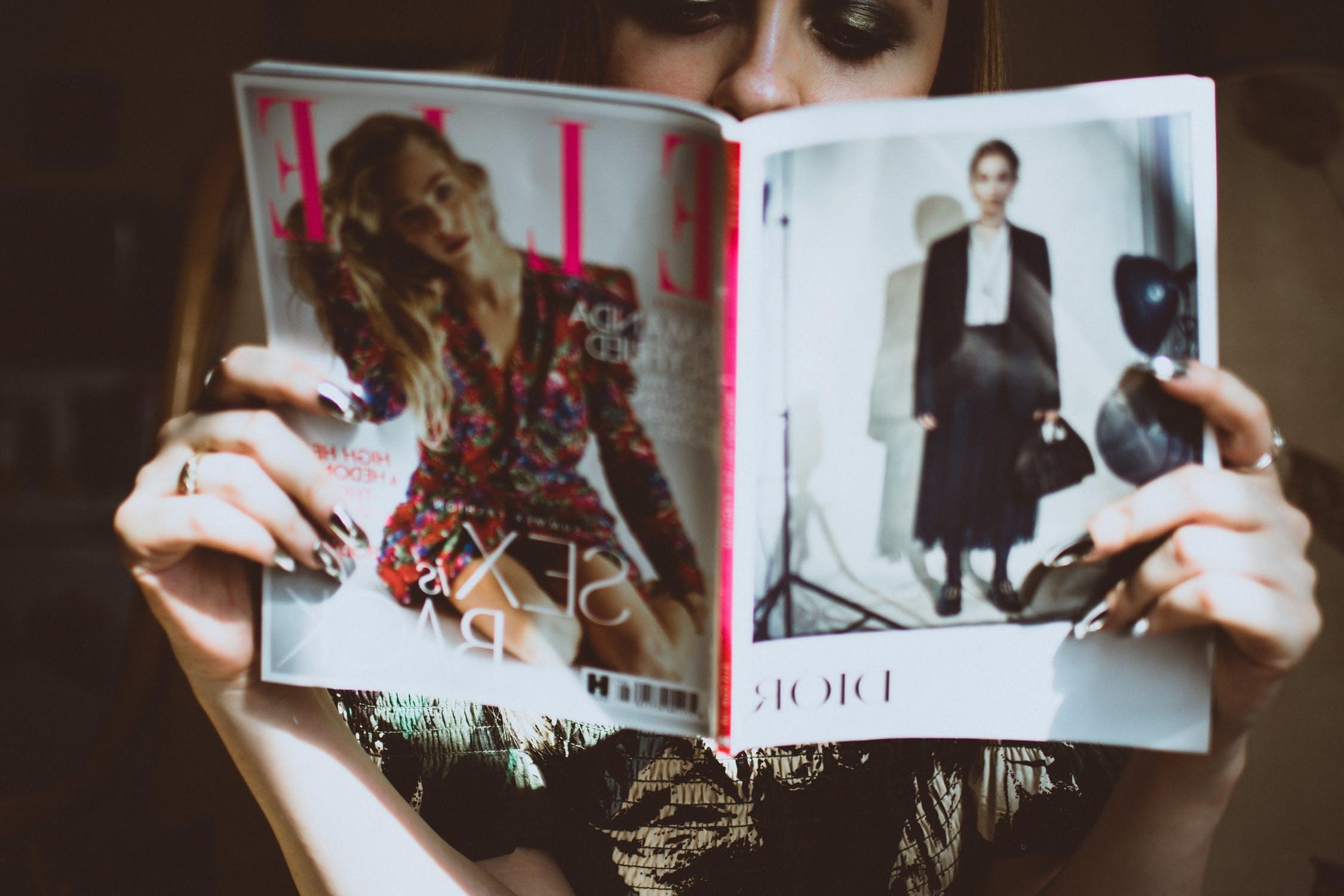 雑誌は大好きなんだけど...。