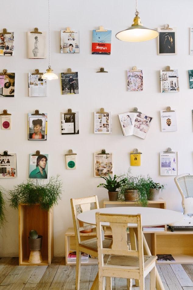 Idea 4. 壁に飾る