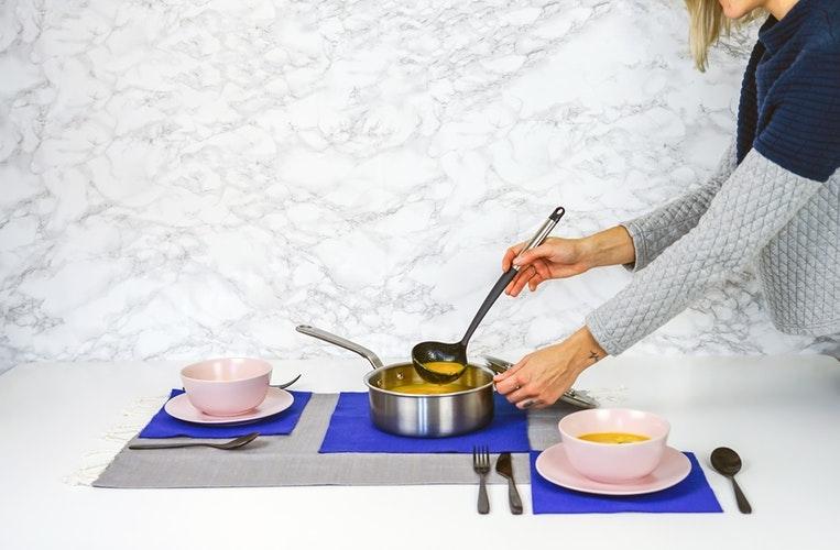 ②満腹感upのスープ