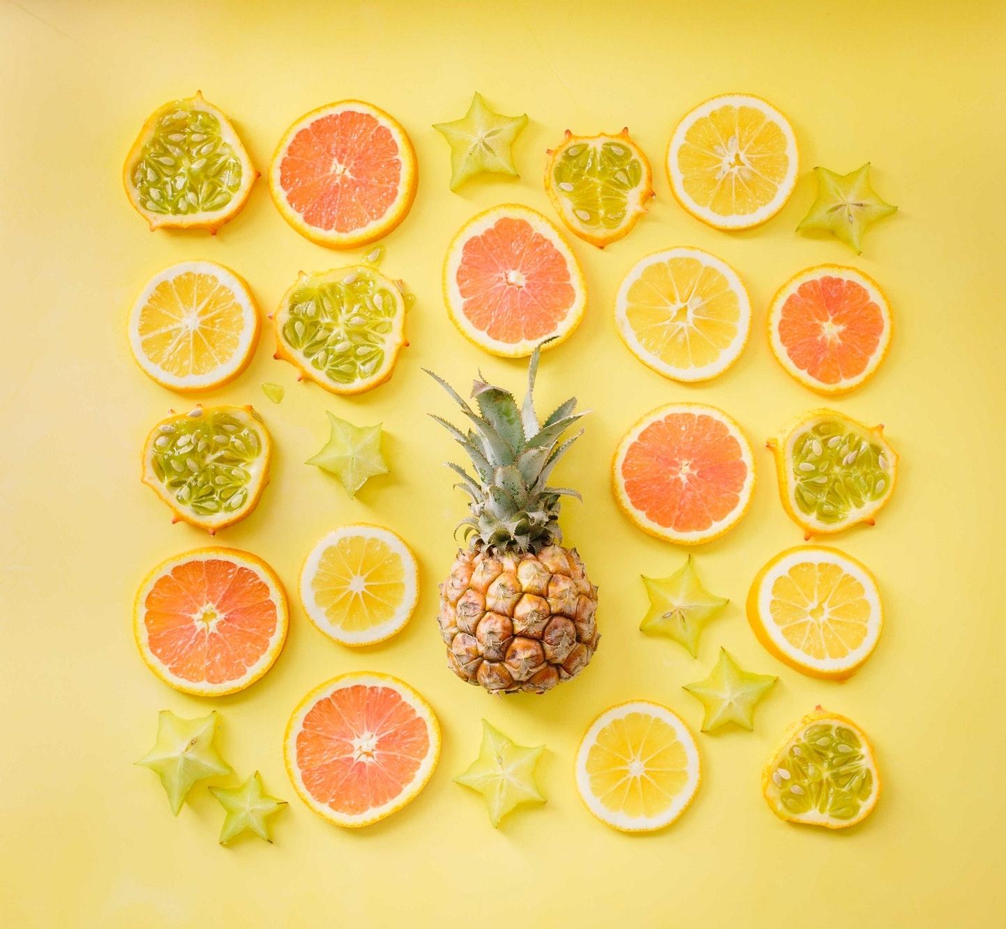 ③グレープフルーツの香りで気分転換
