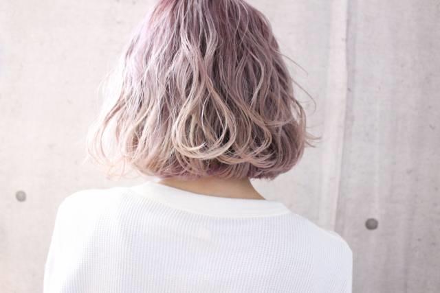 ピンク(桃)for ピンク,レッド系ヘア