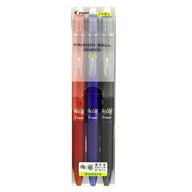 消せるボールペン フリクションボールノック 0.5 3色